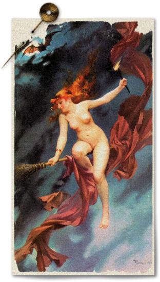 Luis Ricardo Falero: The witches Sabbath