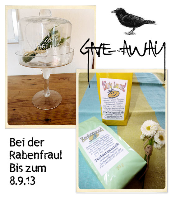 Give-away hier im Blog bis 8.9.2013