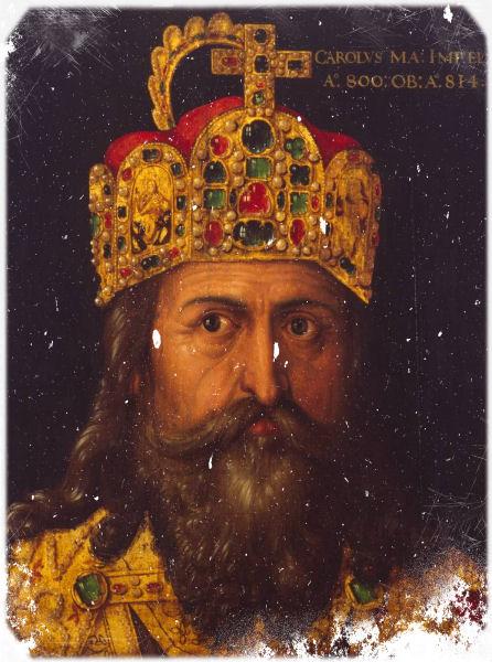 Karl der Große (Ausschnitt) von Albrecht Dürer (1471-1528)