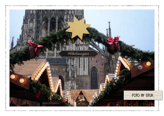Die Rabenfrau: Weihnachtsmarkt statt Hausfrauenmontag