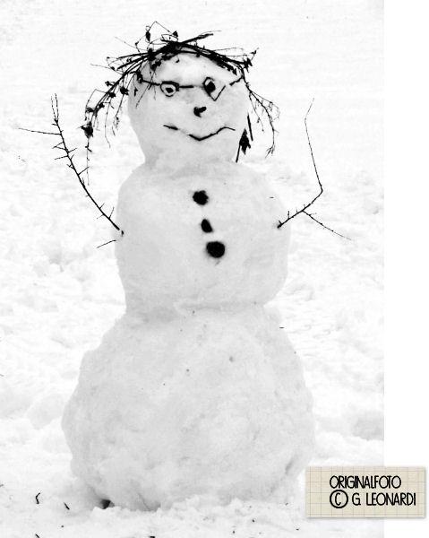 Die Rabenfrau und the Snowman
