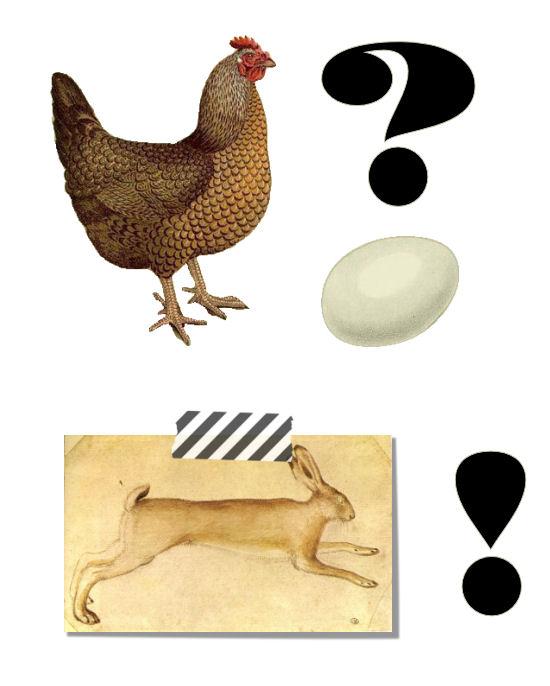 Die Rabenfrau: Henne oder Ei?