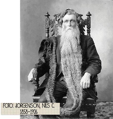 Die Rabenfrau: Hans Nielsen Langseth (1846-1927) und sein Bart