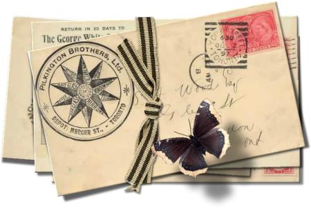 Die Rabenfrau: Man schreibt nicht mehr, Briefe sind selten geworden