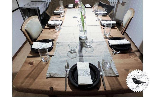 Die Rabenfrau: Table-Setting, Tischdecken