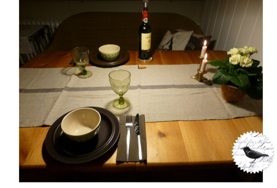 Die Rabenfrau: Table-Setting