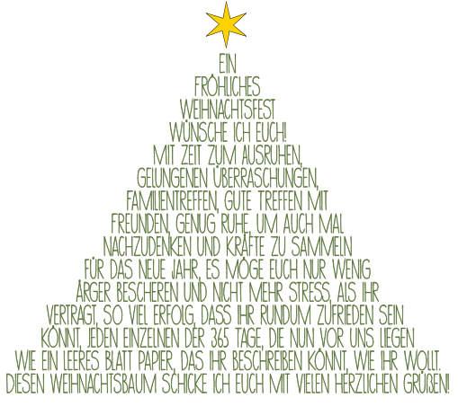 Wünsche Guten Weihnachtsbaum Der