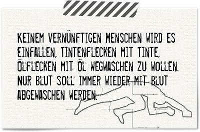 Die Rabenfrau: Zitat Bertha von Suttner