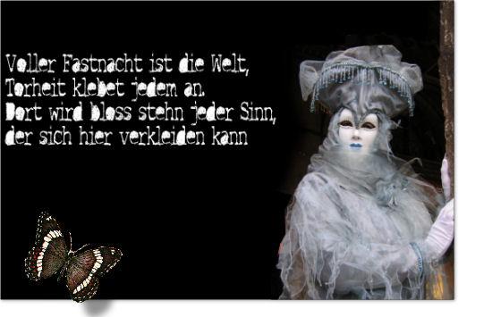 Die Rabenfrau: Fastnacht, Friedrich von Logau