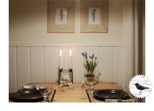 Die Rabenfrau: Tablesetting
