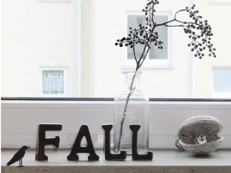 Die Rabenfrau: Herbstdeko