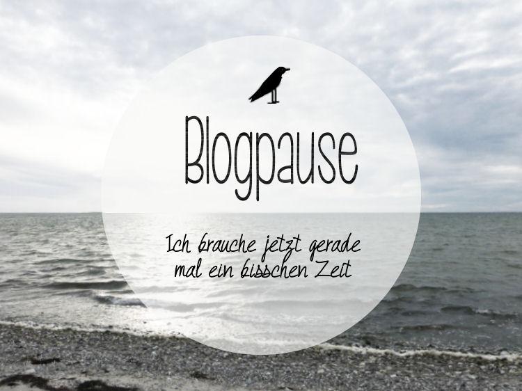 Blogpause bei der Rabenfrau